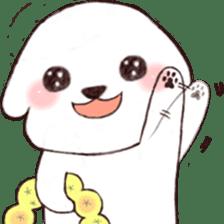 Funny Bichon sticker #8620939
