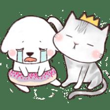 Funny Bichon sticker #8620943