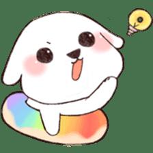 Funny Bichon sticker #8620946