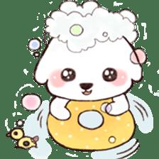 Funny Bichon sticker #8620949