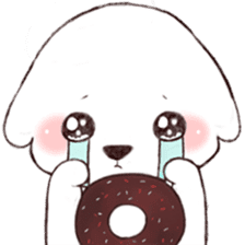Funny Bichon sticker #8620950
