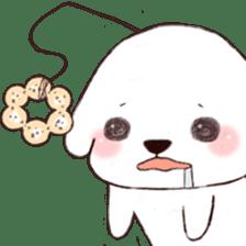 Funny Bichon sticker #8620954