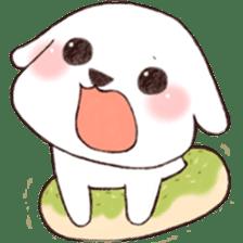 Funny Bichon sticker #8620955