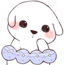 Funny Bichon sticker #8620956