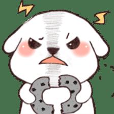 Funny Bichon sticker #8620967
