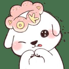 Funny Bichon sticker #8620975