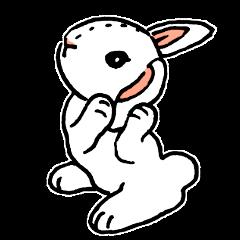 Schinako's My Lovely White Bunny