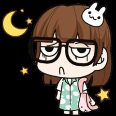 Grumbling girl (EN)