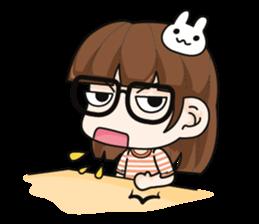 Grumbling girl (EN) sticker #8625858
