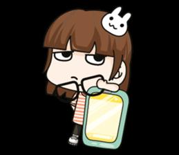 Grumbling girl (EN) sticker #8625861