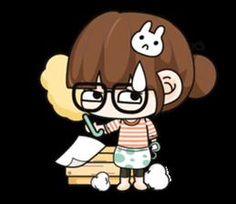 Grumbling girl (EN) sticker #8625871