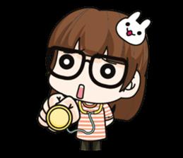 Grumbling girl (EN) sticker #8625873