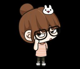 Grumbling girl (EN) sticker #8625874