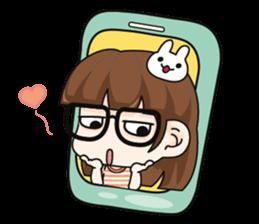 Grumbling girl (EN) sticker #8625875