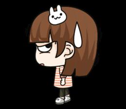 Grumbling girl (EN) sticker #8625881