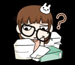 Grumbling girl (EN) sticker #8625882