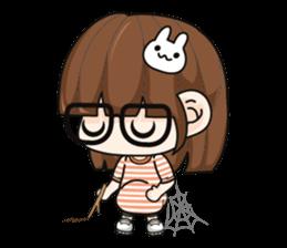 Grumbling girl (EN) sticker #8625886