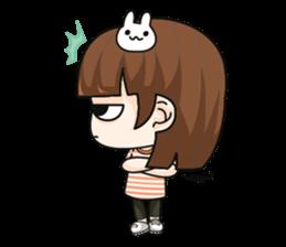 Grumbling girl (EN) sticker #8625887