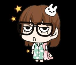 Grumbling girl (EN) sticker #8625889