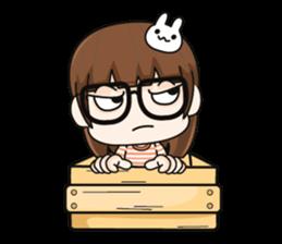 Grumbling girl (EN) sticker #8625896