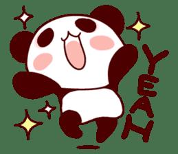 Full of panda! sticker #8628022