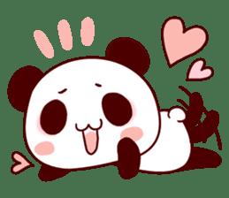 Full of panda! sticker #8628024