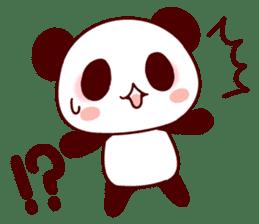 Full of panda! sticker #8628027