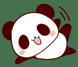 Full of panda! sticker #8628028