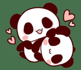 Full of panda! sticker #8628029
