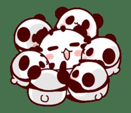 Full of panda! sticker #8628031