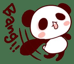 Full of panda! sticker #8628032