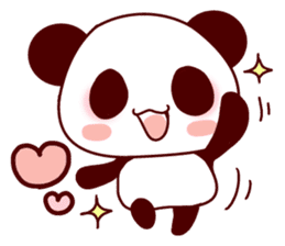 Full of panda! sticker #8628033