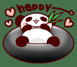 Full of panda! sticker #8628034