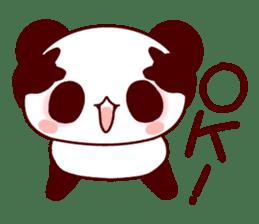Full of panda! sticker #8628036