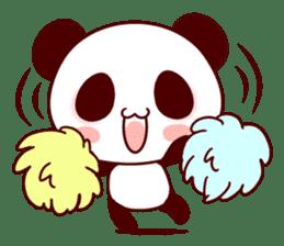 Full of panda! sticker #8628037