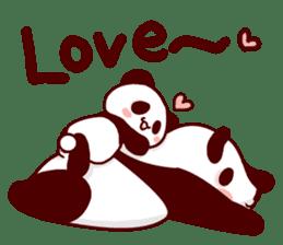 Full of panda! sticker #8628038