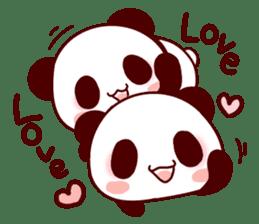 Full of panda! sticker #8628039