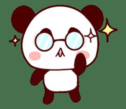 Full of panda! sticker #8628042