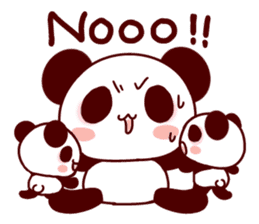 Full of panda! sticker #8628043