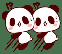 Full of panda! sticker #8628044