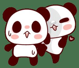 Full of panda! sticker #8628048