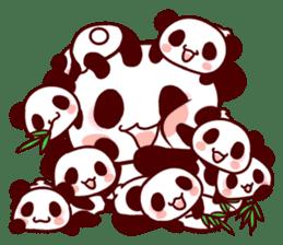 Full of panda! sticker #8628050