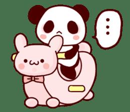 Full of panda! sticker #8628052