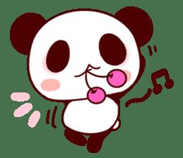 Full of panda! sticker #8628053