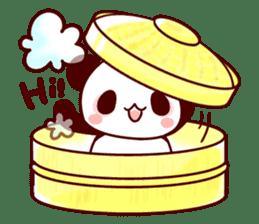 Full of panda! sticker #8628054