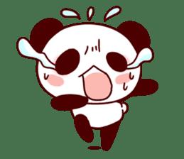 Full of panda! sticker #8628056