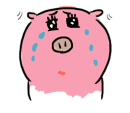 PONPONG the pig and her friends sticker #8631800