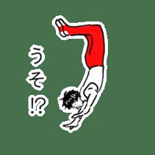 Gymnast Sticker sticker #8637708