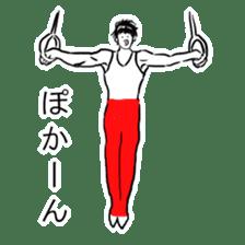 Gymnast Sticker sticker #8637713