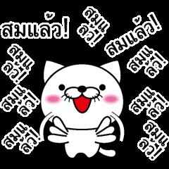Too noisy cat Thai version